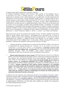 Mozione SenzaPaura TVN