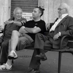 Nonno Pietro a Villa Santina